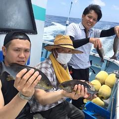 6月 24日(水) 午前・午後・イサキ、アジ釣りの写真その1