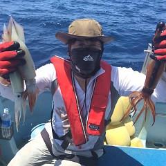8月 1日(土) 1日便・スルメイカ釣りの写真その1