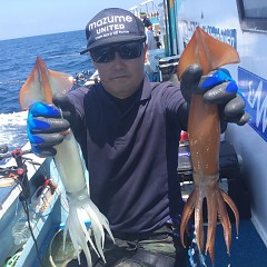 8月 1日(土) 1日便・スルメイカ釣りの写真その4