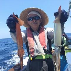 8月 1日(土) 1日便・スルメイカ釣りの写真その5