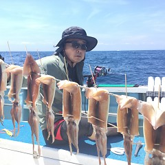 8月 1日(土) 1日便・スルメイカ釣りの写真その6