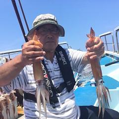 8月 1日(土) 1日便・スルメイカ釣りの写真その7