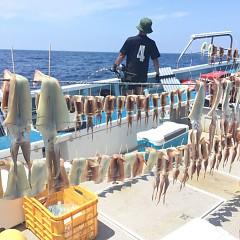 8月 1日(土) 1日便・スルメイカ釣りの写真その8