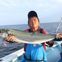 8月 3日(月) 午後便・タテ釣りの写真その2