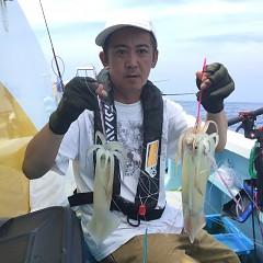 8月 9日(日) 1日便・スルメイカ釣りの写真その1