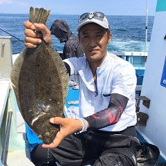 8月 23日(日) 午前便・タテ釣りの写真その1