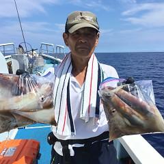 8月 31日(月) 1日便・スルメイカ釣りの写真その1
