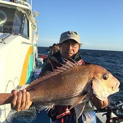 9月 27日(日)午前・タテ釣り 午後・ウタセ真鯛の写真その3