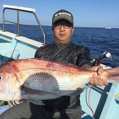9月 28日(月) 午前・タテ釣り 午後・ウタセ真鯛の写真その3