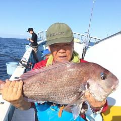 9月 28日(月) 午前・タテ釣り 午後・ウタセ真鯛の写真その8