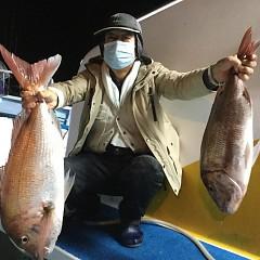 10月 15日(木) 午前・午後・ウタセ真鯛の写真その2