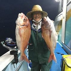 10月 16日(金) 午後・ウタセ真鯛の写真その1