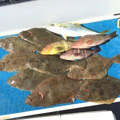 10月 31日(土) 午前便・ヒラメ釣りの写真その2
