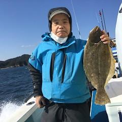 11月 11日(水)午前・午後・ヒラメ釣りの写真その1
