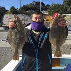 11月 11日(水)午前・午後・ヒラメ釣りの写真その3