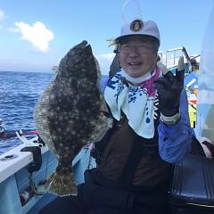 11月 19日(木) 午後・ヒラメ釣りの写真その1