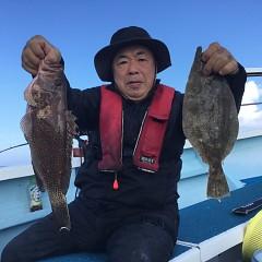 11月 19日(木) 午後・ヒラメ釣りの写真その2