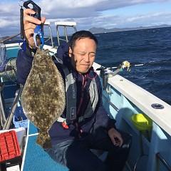 11月 23日(月) 午前便・ヒラメ釣りの写真その3