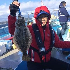 11月 23日(月) 午前便・ヒラメ釣りの写真その4