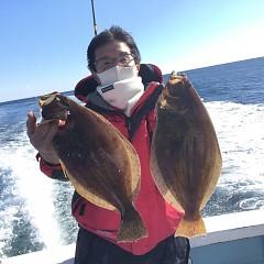 11月24日(火)午前・午後便・ヒラメ釣りの写真その2