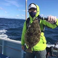 11月 28日(日) 午前・ヒラメ釣り 午後・ウタセ真鯛の写真その4
