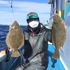 11月 29日(日) 午前・ヒラメ釣りの写真その1