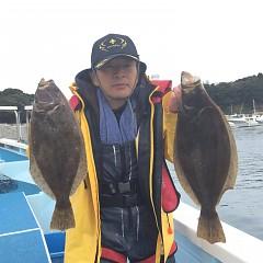 11月 30日(月) 午前便・ヒラメ釣りの写真その1