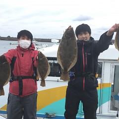 11月 30日(月) 午前便・ヒラメ釣りの写真その4