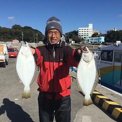 12月3日(木)午前便・ヒラメ釣りの写真その2