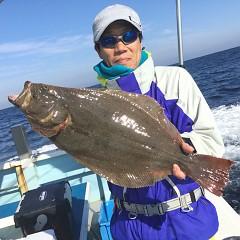 12月10日(木)午前・午後便・ヒラメ釣りの写真その1