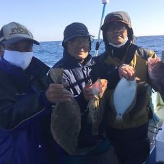 12月10日(木)午前・午後便・ヒラメ釣りの写真その2