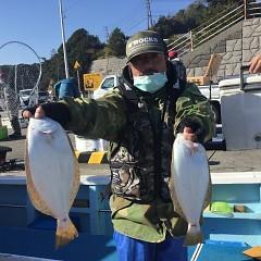 12月10日(木)午前・午後便・ヒラメ釣りの写真その5
