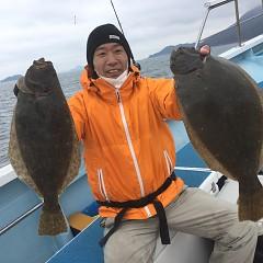 12月 28日(月) 午前便・イワシの泳がせ釣りの写真その2