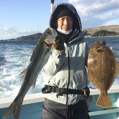 1月 3日(日) 1日便・イワシの泳がせ釣りの写真その2