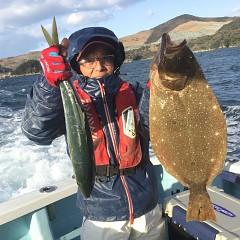 1月 3日(日) 1日便・イワシの泳がせ釣りの写真その3