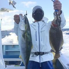 1月 3日(日) 1日便・イワシの泳がせ釣りの写真その10