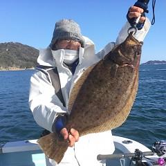 1月 4日(月) 1日便・イワシの泳がせ釣りの写真その1