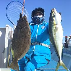 1月 4日(月) 1日便・イワシの泳がせ釣りの写真その2