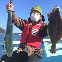 1月 4日(月) 1日便・イワシの泳がせ釣りの写真その4