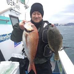 1月 5日(火) 1日便・イワシの泳がせ釣りの写真その6
