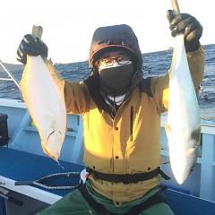 1月 9日(土) 午後・イワシの泳がせ釣りの写真その2
