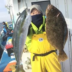 1月 11日(月) 1日便・イワシの泳がせ釣りの写真その1