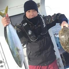 1月 11日(月) 1日便・イワシの泳がせ釣りの写真その3