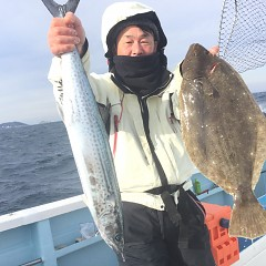 1月 11日(月) 1日便・イワシの泳がせ釣りの写真その5