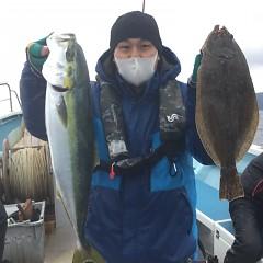 1月 12日(火) 1日便・イワシの泳がせ釣りの写真その4