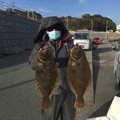 1月15日(金)イワシの泳がせ釣り1日便の写真その1