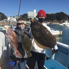 1月 25日(月) 午前便・イワシの泳がせ釣りの写真その1