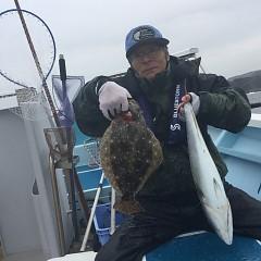 1月 28日(木) 1日便・イワシの泳がせ釣りの写真その6
