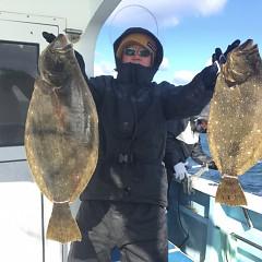 1月 30日(土) 午前便・イワシの泳がせ釣りの写真その1