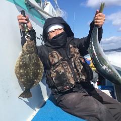 1月 30日(土) 午前便・イワシの泳がせ釣りの写真その2